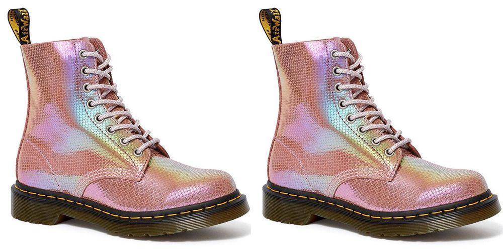 These New Iridescent Doc Martens Will