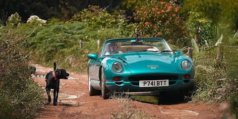 Land vehicle, Vehicle, Car, Regularity rally, Coupé, Tvr s series, Sports car, Tvr, Convertible, Classic car,