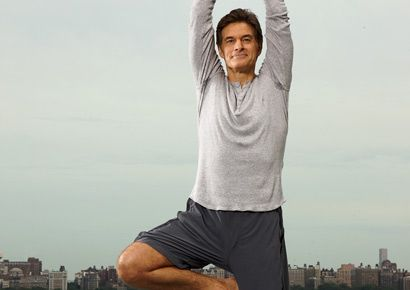 Dr. Oz yoga tree pose