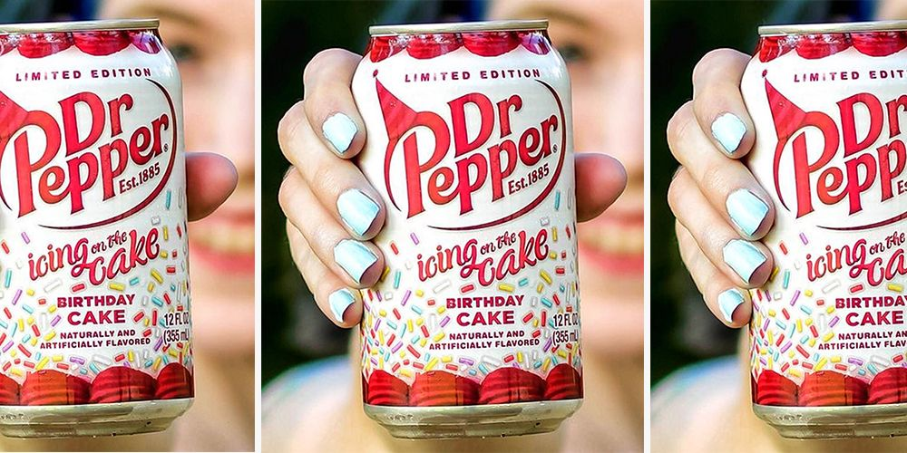 Dr Pepper S Birthday Cake Flavor Gives You A Reason To