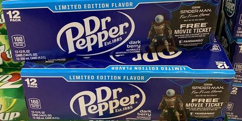 Dr Pepper Introduces A Limited Edition Dark Berry Flavor With Marvel