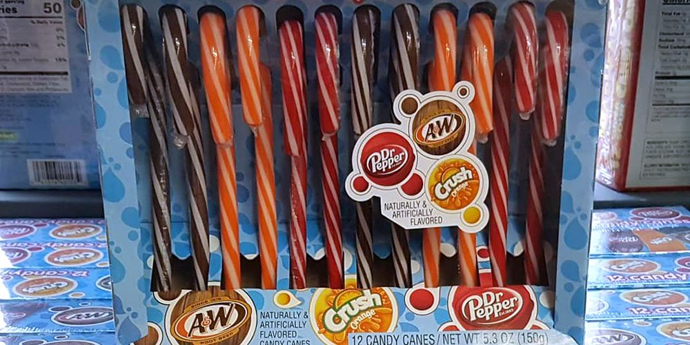 You Can Get Dr Pepper-Flavored Candy Canes for the Jolliest Holiday Treat