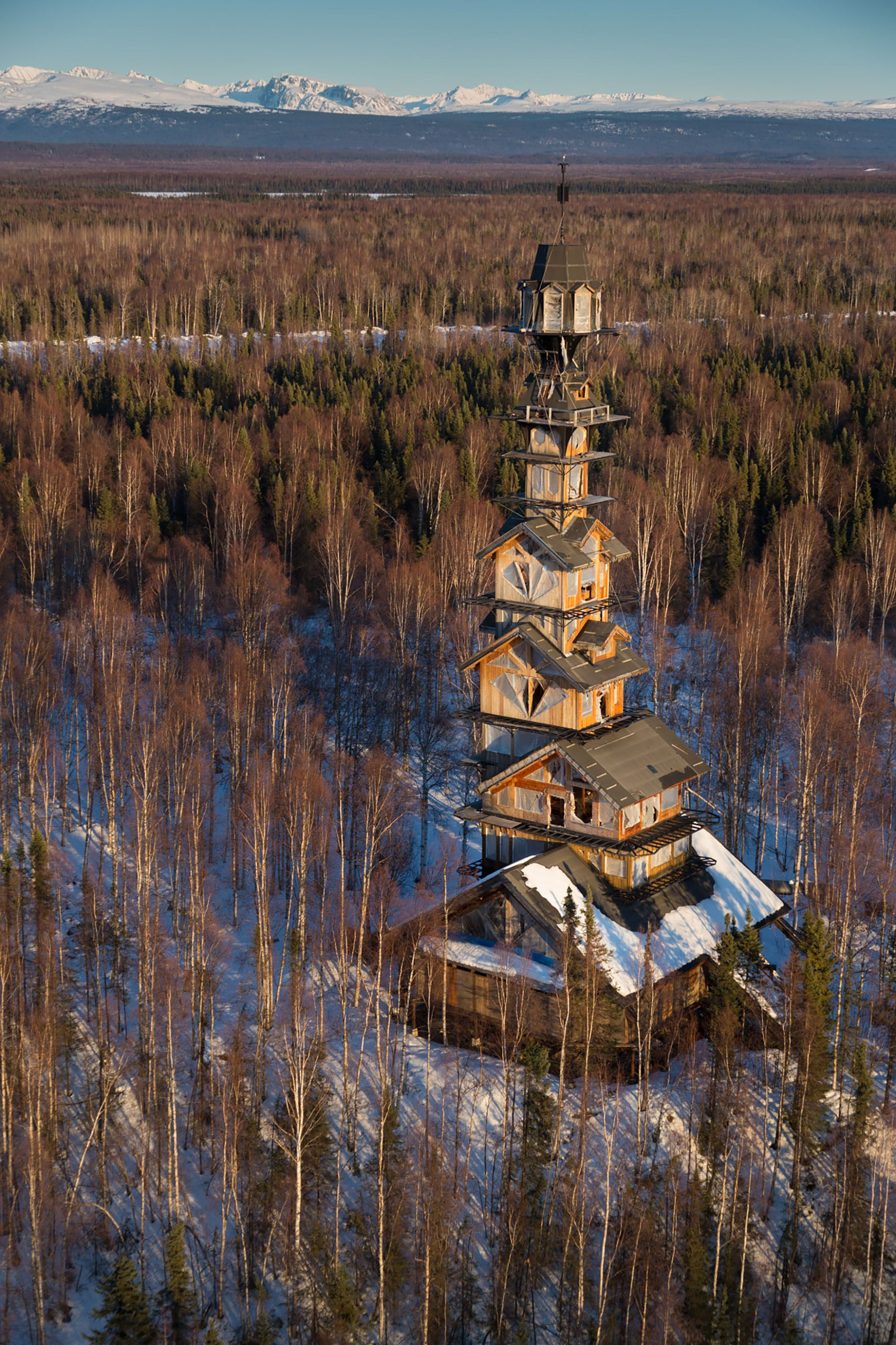 weirdest building in alaska