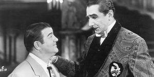 Lou Costello with Bela Lugosi