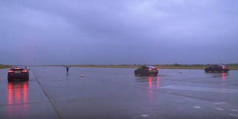 Tesla drag race