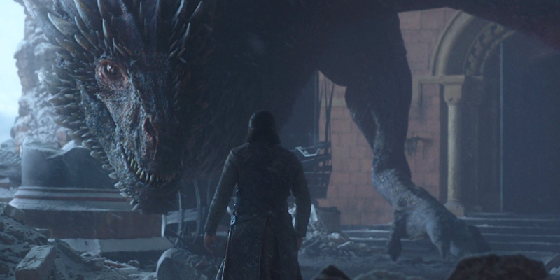 Hold Up, Why Didn't Drogon Kill Jon Snow in the Game of Thrones Finale?