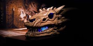 """Esqueleto dragón exposición """"Juego de tronos"""""""