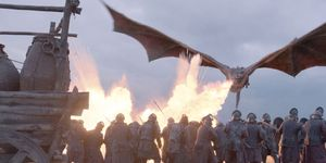 ¿Y si los dragones de 'Juego de tronos' no fuera dragones?