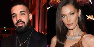 Drake, Bella Hadid, relatie, scorpion, nummer, tekst, GigiHadid, ghosten, The Weeknd