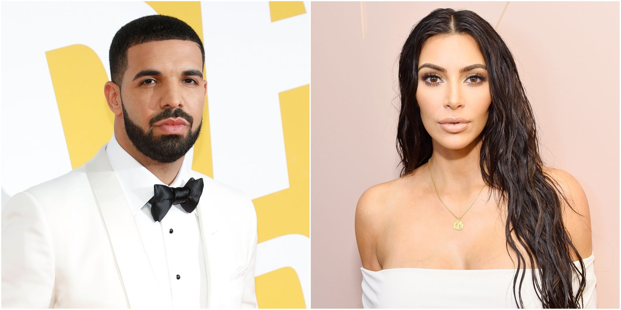 Drake and Kim Kardashian