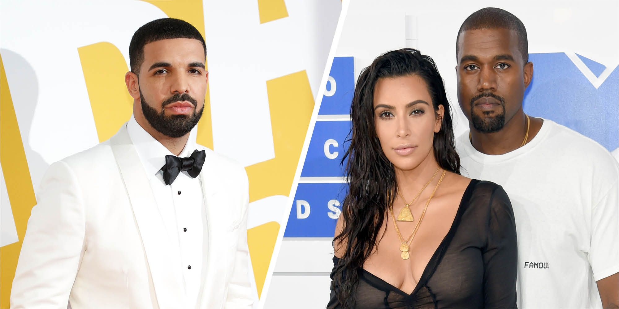 Drake Takes the Lord's Name in Vain While Disrespecting the Present Husband of Kim Kardashian, Kanye West