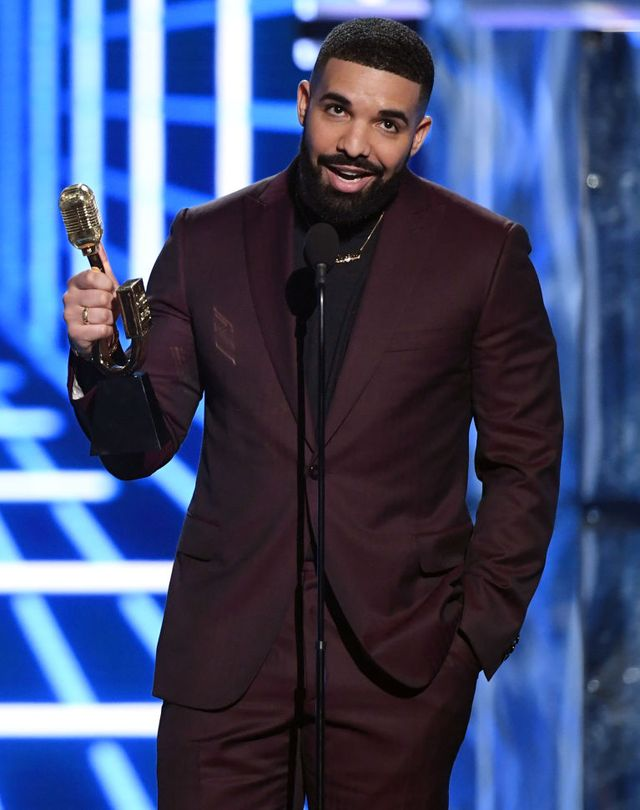 las vegas, nevada   may 01  drake accepts the award for top artist during the 2019 billboard music awards at mgm grand garden arena on may 1, 2019 in las vegas, nevada  photo by ethan millergetty images