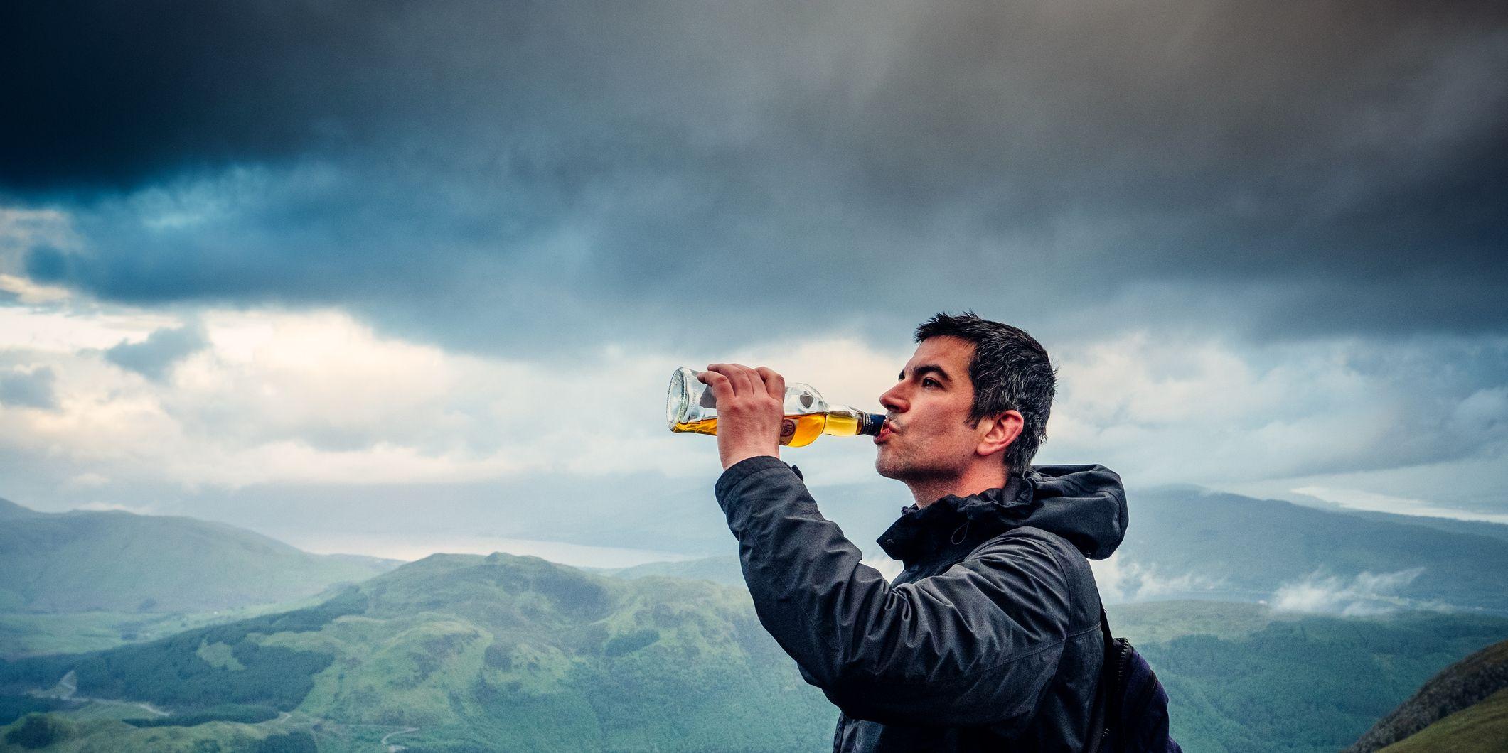 Dramathon whisky marathon Schotland