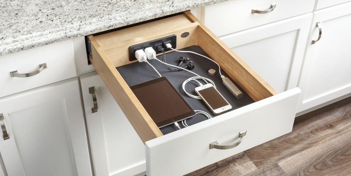 16 Best Kitchen Cabinet Drawers Clever Ways To Organize Kitchen Drawers