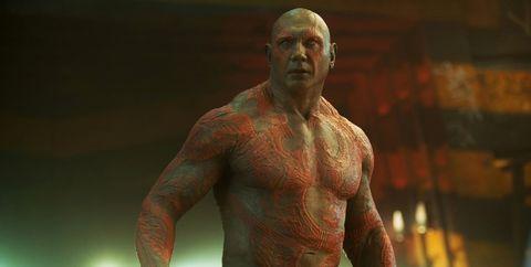 Barechested, Muscle, Chest, Bodybuilder, Arm, Human, Wrestler, Bodybuilding, Human body, Tattoo,