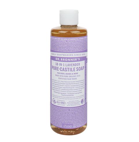 dr bronner's lavender vloeibare zeep
