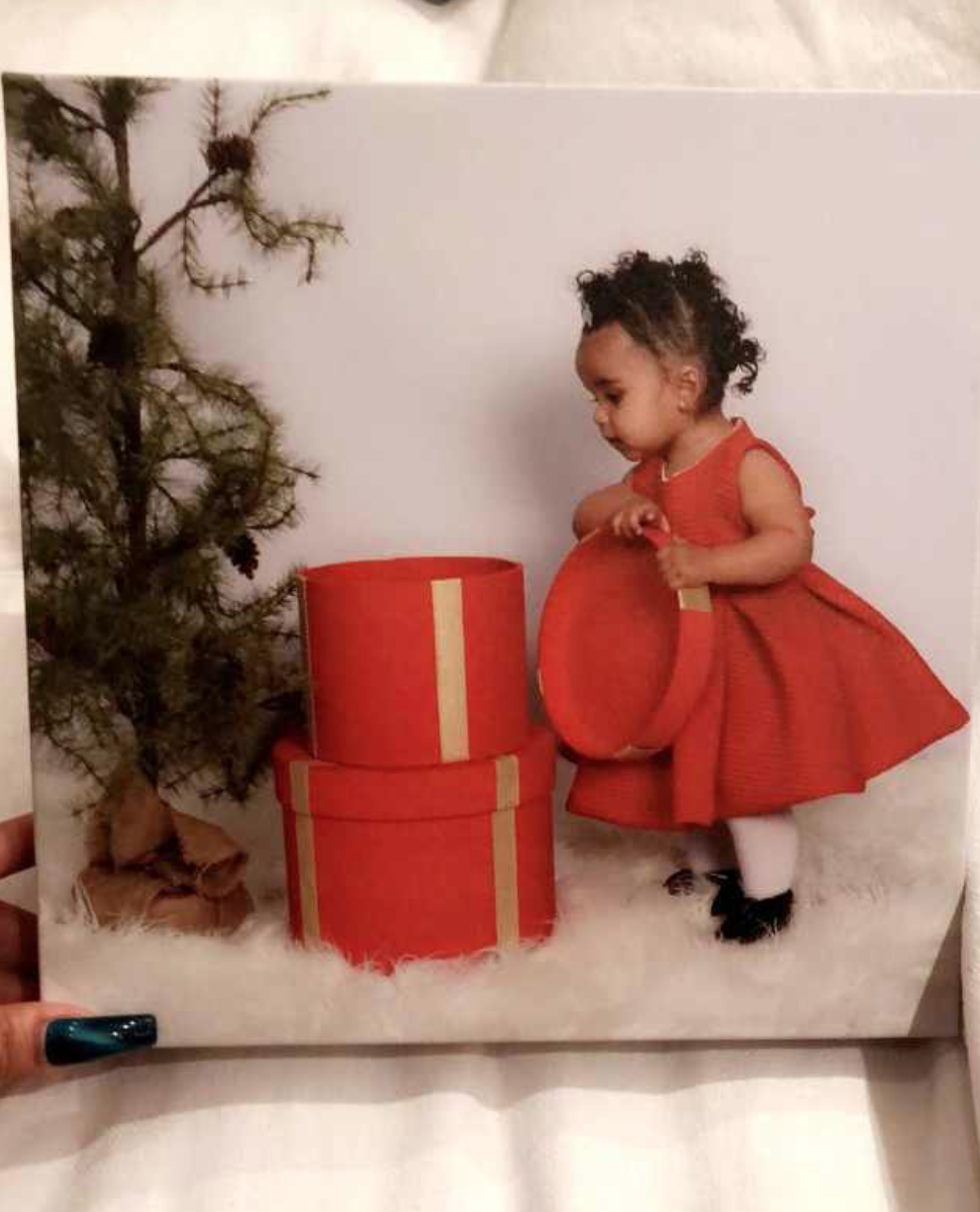 Dream Kardashian Got to Be in TWO Christmas Cards This Year