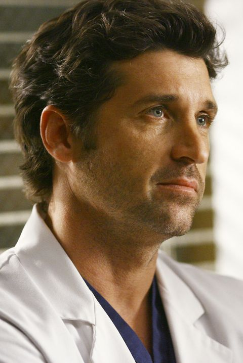 "dr derek shepherd in ""grey's anatomy"""