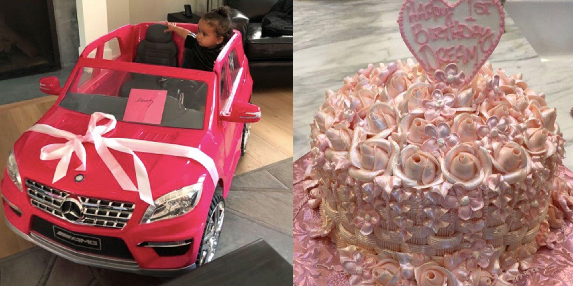 Dream Kardashian first birthday party