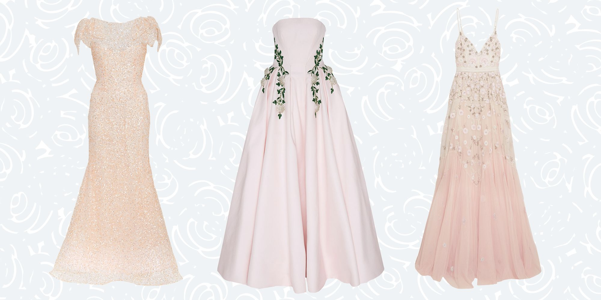 10 Perfectly Pink Wedding Dresses Dresses For The Unconventional Bride