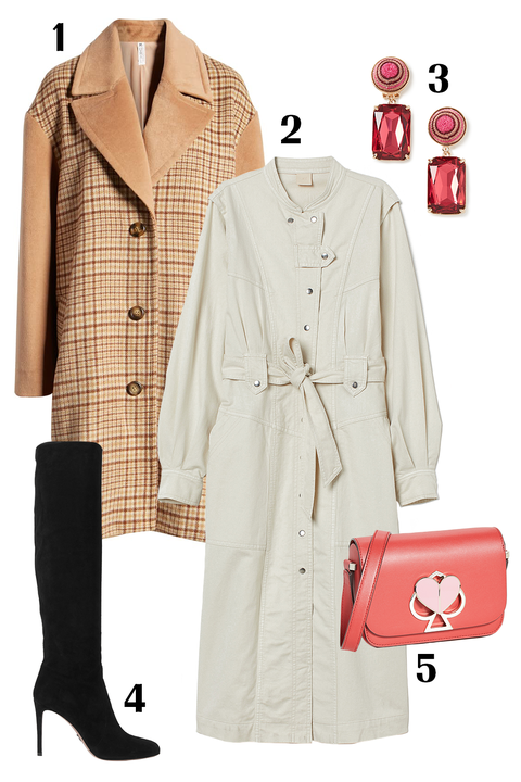 Clothing, Trench coat, Coat, Overcoat, Outerwear, Fashion, Beige, Suit, Formal wear, Fashion design,