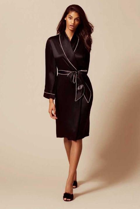 Clothing, Fashion model, Dress, Formal wear, Fashion, Shoulder, Photo shoot, Sleeve, Robe, Neck,