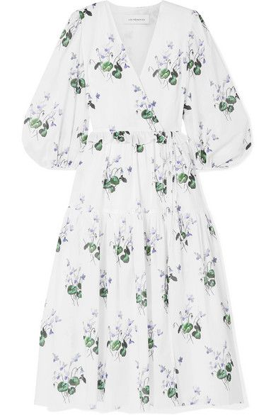Clothing, White, Day dress, Dress, Sleeve, Green, Robe, Outerwear, Plant, Cover-up,