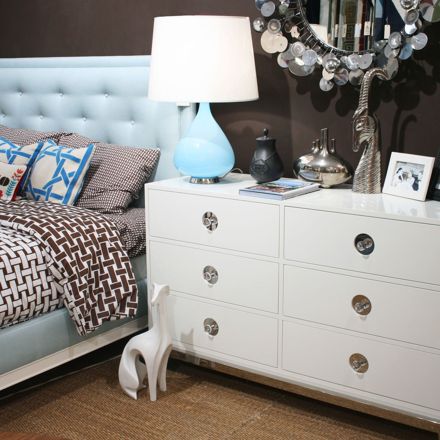 overstock shipping white dresser cosmo today drawer product by free wood rustic antique kosas garden home dressers goods