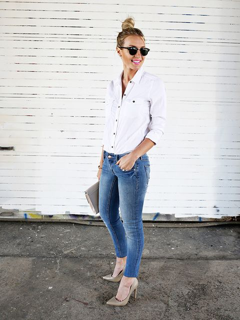 How to Make Boring Button Downs Look Crazy Stylish
