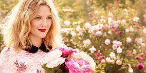 Drew Barrymore - Flower - beauty interview