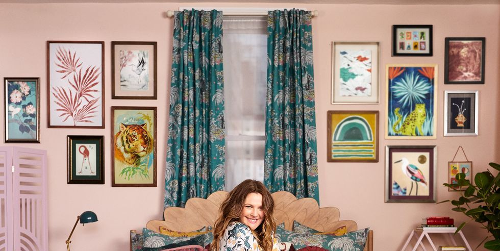 Drew Barrymore Home With Kids