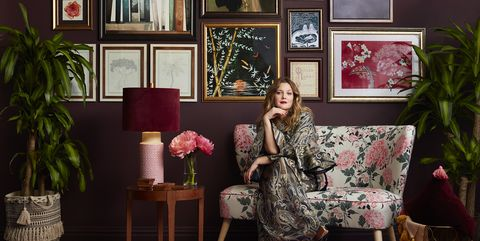 drew barrymore home collection