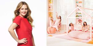 Drew Barrymore lanza una línea de muebles infantiles