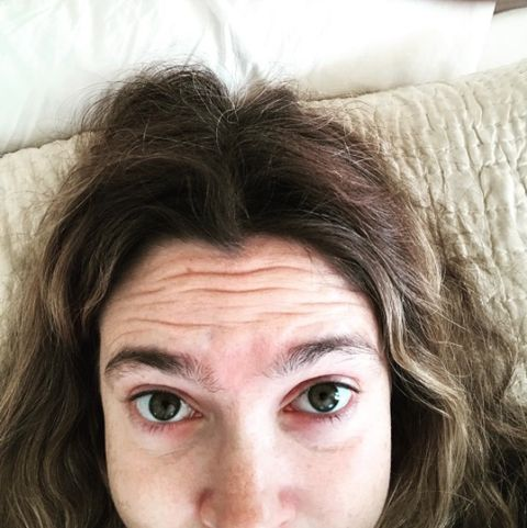 Drew Barrymore goes makeup free in Instagram selfie
