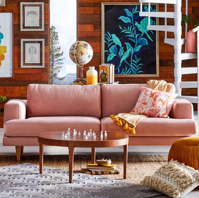 Astounding 25 Best Velvet Couches At Every Budget Velvet Sofas Under Squirreltailoven Fun Painted Chair Ideas Images Squirreltailovenorg