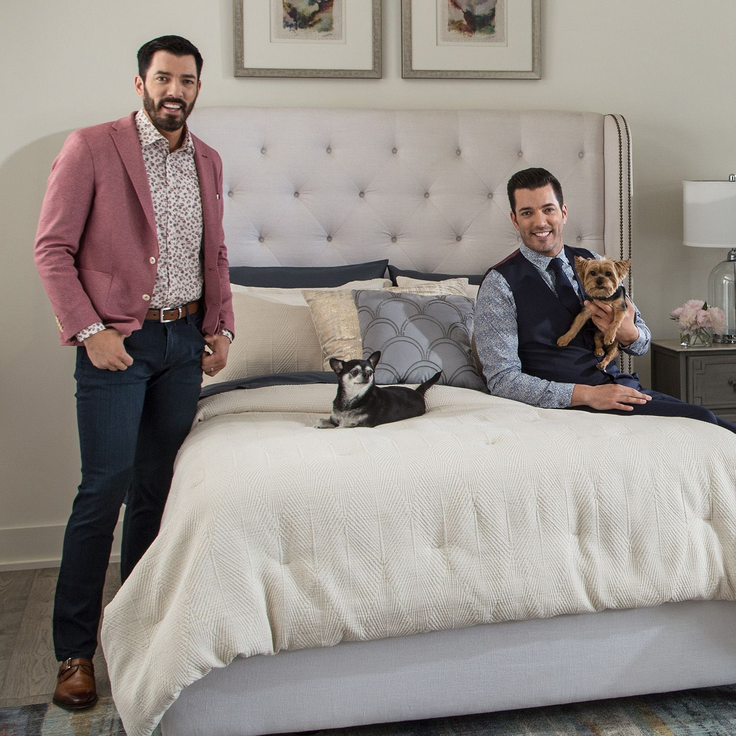 The Property Brothers Just Launched a Home Decor Collection with Kohl's