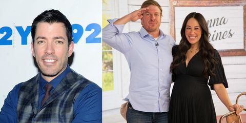 drew scott offers first born to chip and joanna chip and joanna