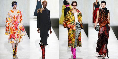 Fashion, Clothing, Fashion model, Runway, Street fashion, Fashion design, Formal wear, Suit, Design, Textile,