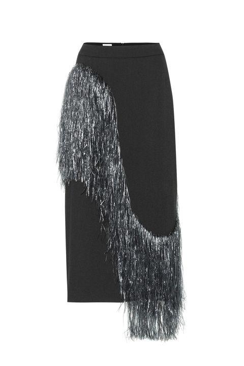 Black, Fur, Scarf, Fashion accessory,
