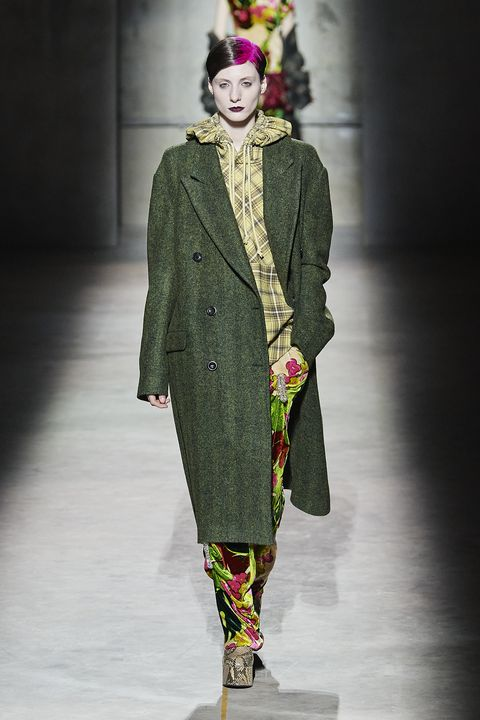 Dries van Noten Herfst/Winter 2020 show op Paris Fashion Week.