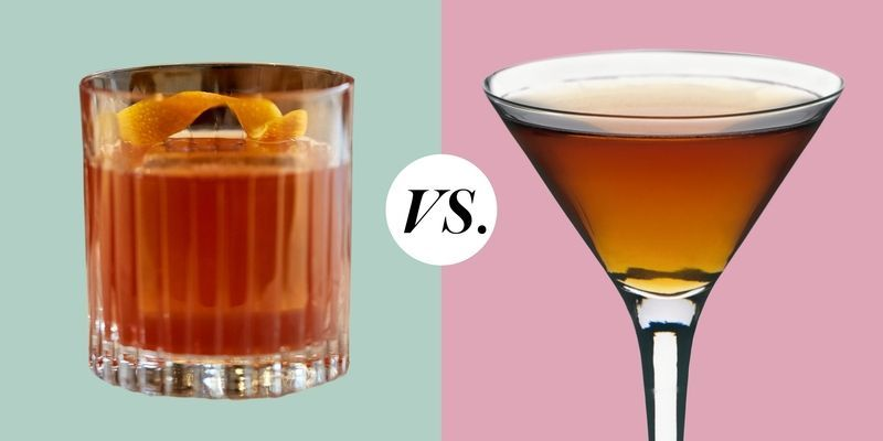 Manhattan Cocktail Vs Old Fashioned