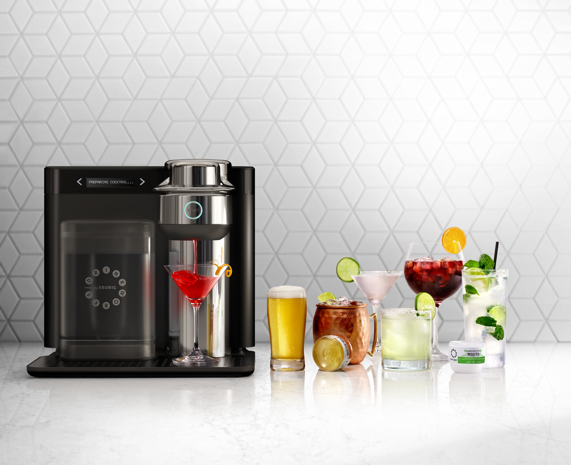 The Keurig For Cocktails Is Here And It's Cheaper Than A Night Out