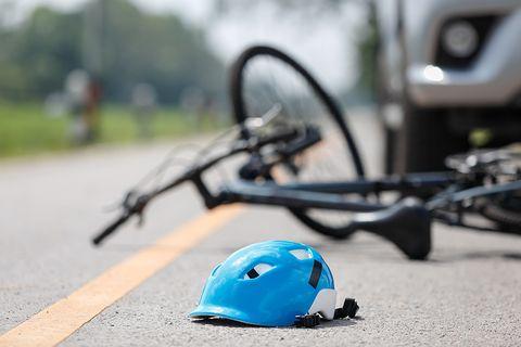 Driver Strikes Cyclist