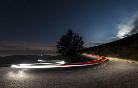 driver at night