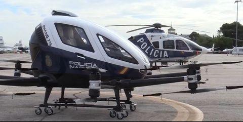 dron policia nacional