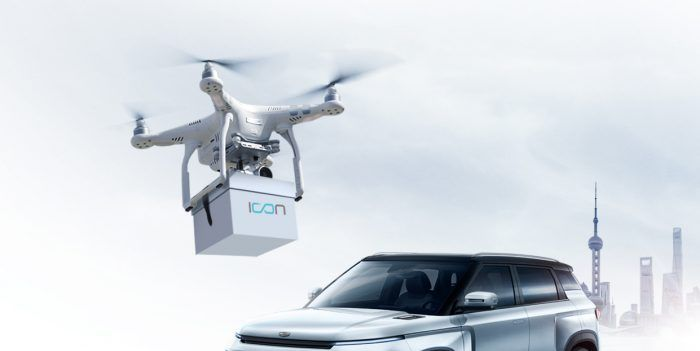 Chinese Automaker Geely Will Deliver Keys to New Cars via Drone