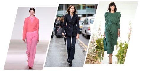 Clothing, Fashion, Street fashion, Outerwear, Fashion model, Footwear, Jacket, Suit, Jeans, Fashion design,