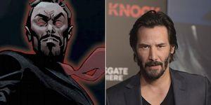 Los Eternos Keanu Reeves Druig