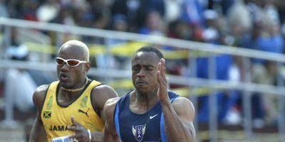 Sprinter Jon Drummond