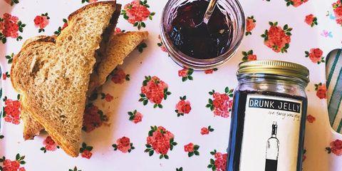 Food, Ingredient, Cuisine, Dish, Fruit preserve, Jam, Berry, Currant, Produce, Raspberry,